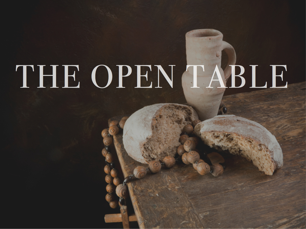 Open Table Communion Watershed Charlotte - Oen table