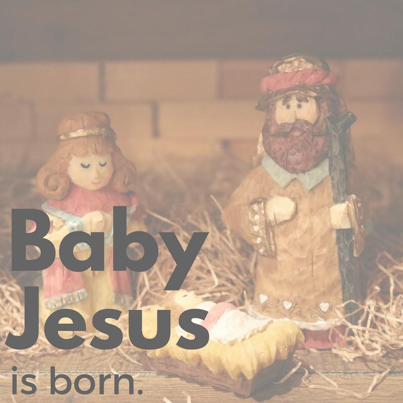 Baby Jesus Is Born Week 1 December 4 2016 Watershed Charlotte