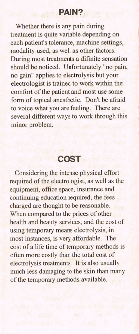 Is Electrolysis Painful? & How Much Does Electrolysis Cost?