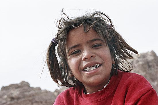 photo young girl petra jordan