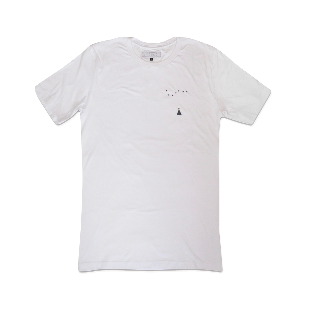 WITHERIDGE TEE IN WHITE  Our Witheridge Tee features designs by Harry Fricker on the front breast & Newland detailing on the back.    SHOP NOW        £24