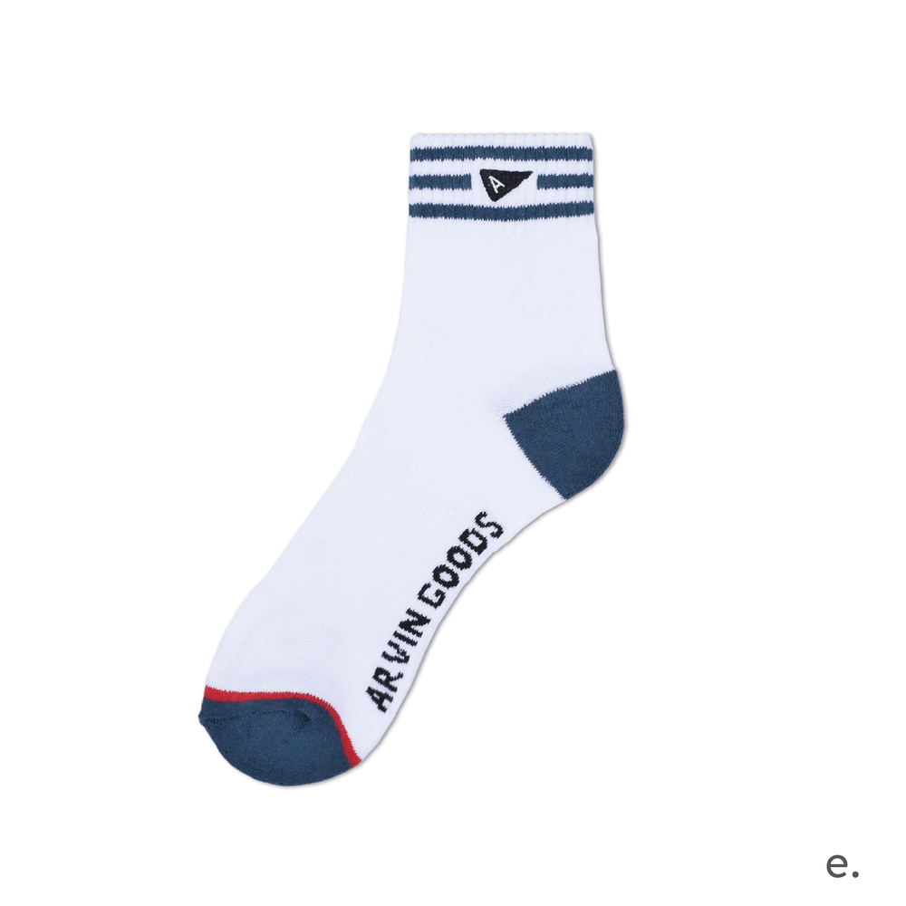 e. Teal & White Crew Sock-01.png