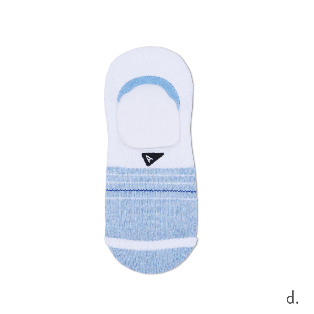 d. Light Blue & White No Show Sock.png