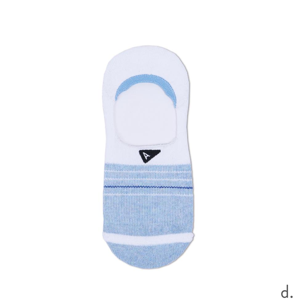 d. Light Blue & White No Show Sock.png