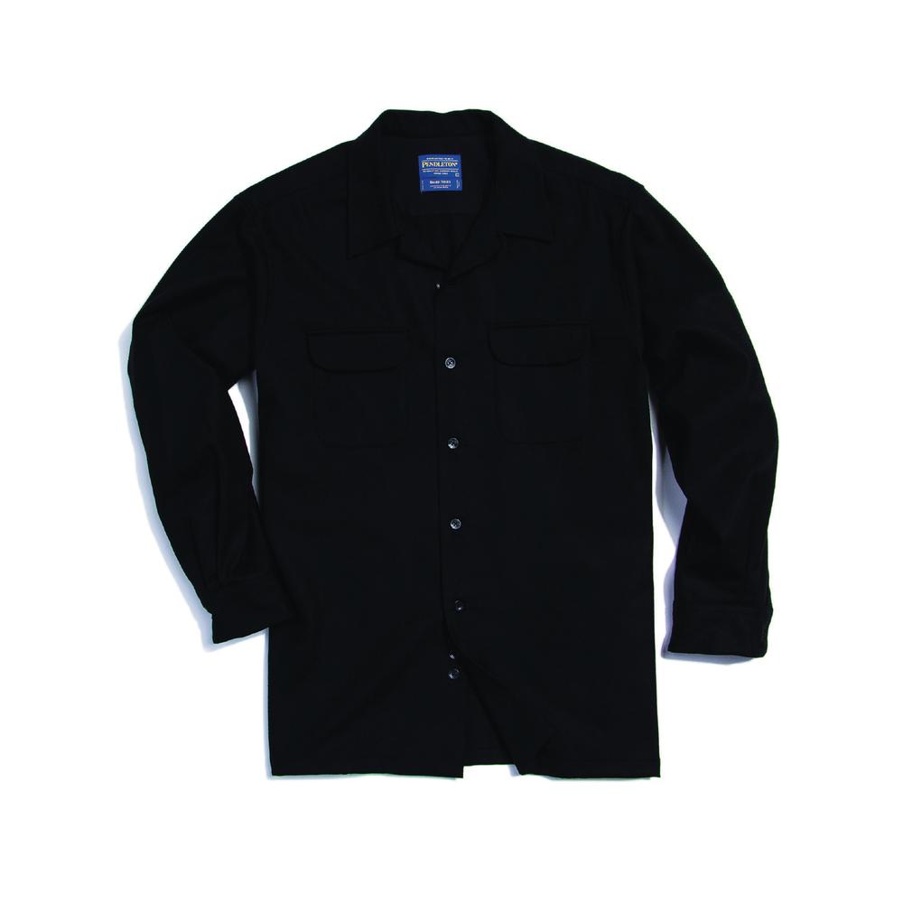 Pendleton Board shirt black.png