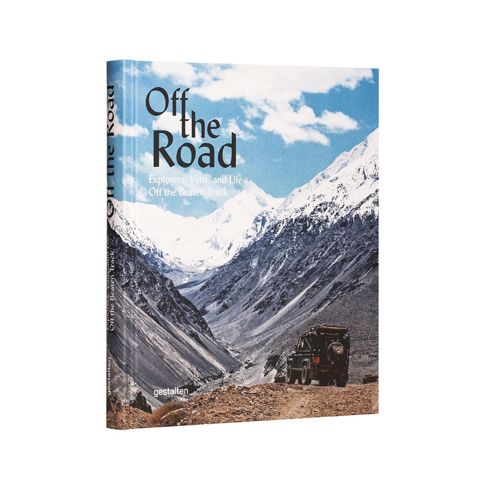 OFF THE ROAD    By  Gestalten     A collection of outdoor adventures and the vehicular travel companions and equipment that make them possible.    SHOP NOW    £30