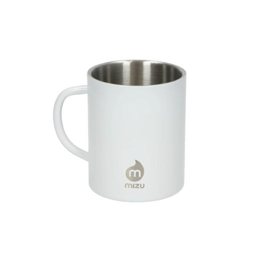 CAMP MUG   By   Mizu Life     This insulated camp mug is perfect for hot coffees or ice cold campfire cocktails.    SHOP NOW          £14