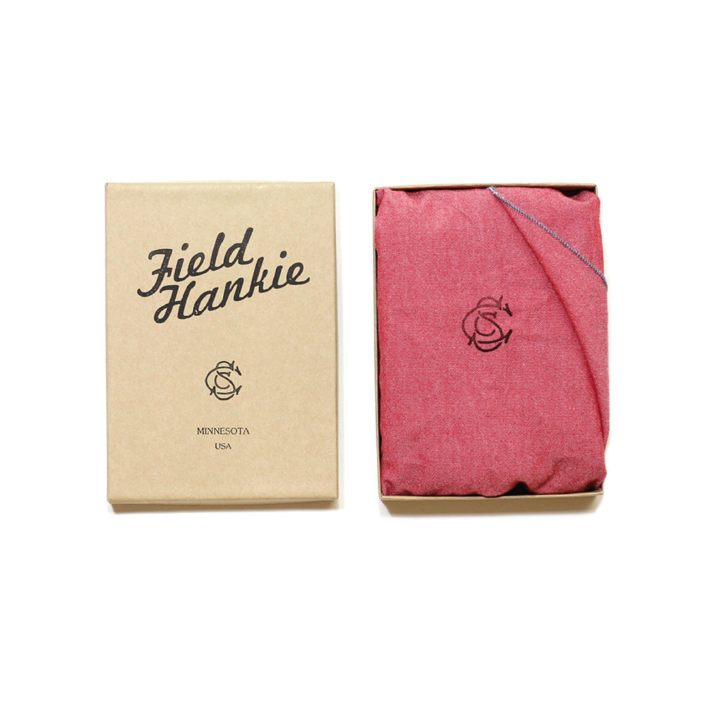FIELD HANKIE   By   Sanborn Canoe Co.     A trusty red cotton hankie from our good friends over in Minnesota.    SHOP NOW          £10