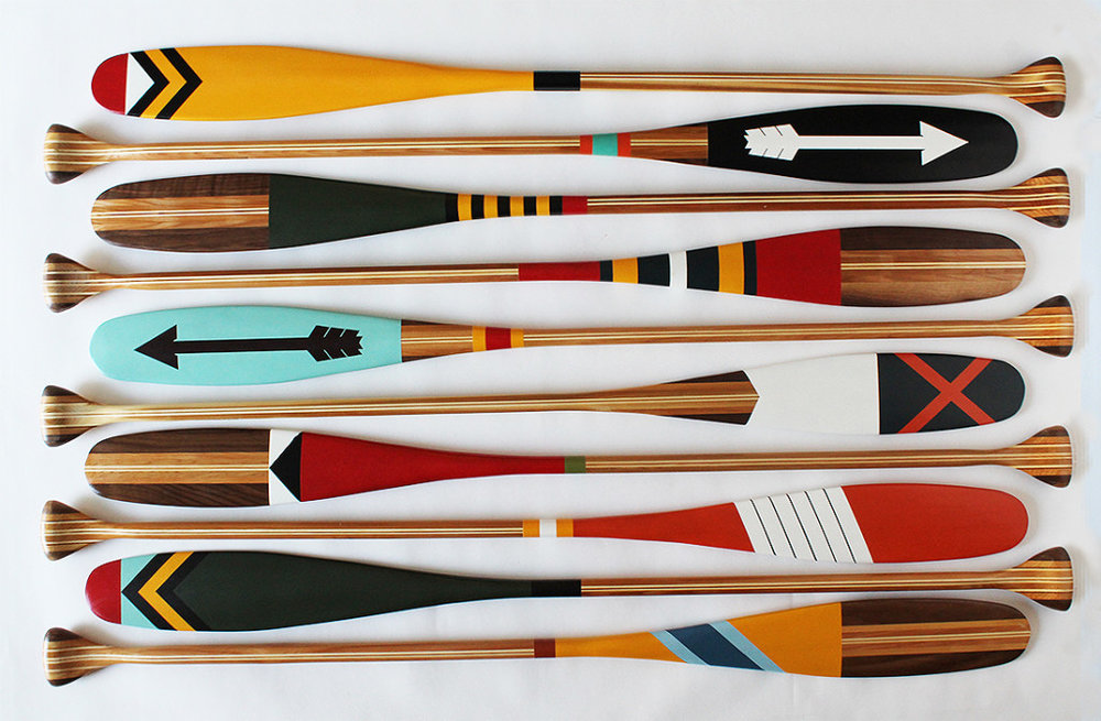 Sanborn canoe co  Artisan painted canoe paddles and axes handmade in the USA.    SHOP    THE FULL COLLECTION