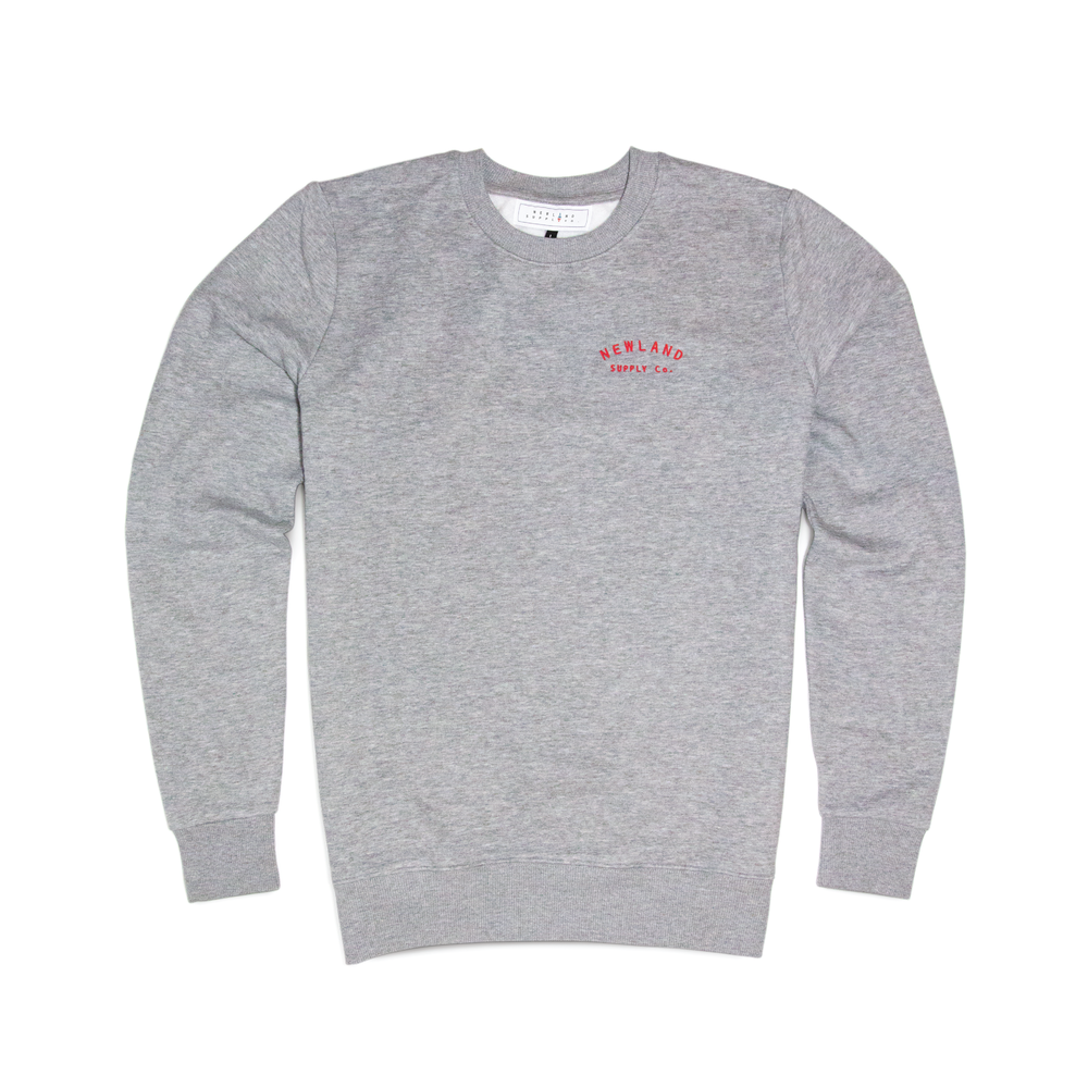 BALMORE SWEATSHIRT IN GREY    By  Newland Supply Co.     A good old reliable sweatshirt for all aspects of your life, whether trekking the Alps,  tearing up the gym, or simply curling up on the sofa.     SHOP NOW        £45