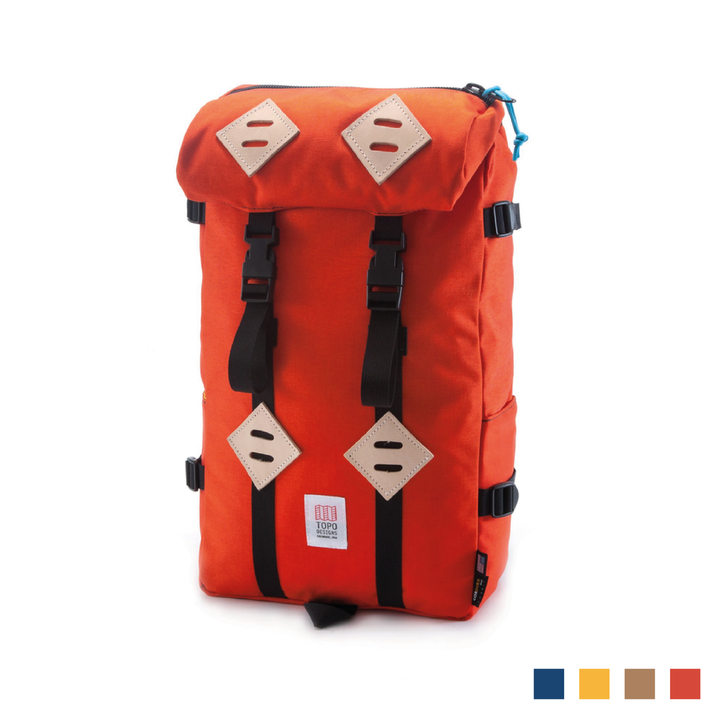 KLETTERSACK    By  Topo Designs     The classic and rugged 22L backpack to join you on all adventures big or small.    SHOP NOW          £120