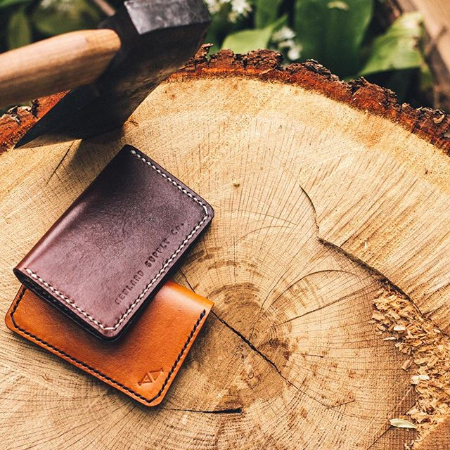 The Meagan Wallet - handmade in the UK using premium leather for a lifetime of use.