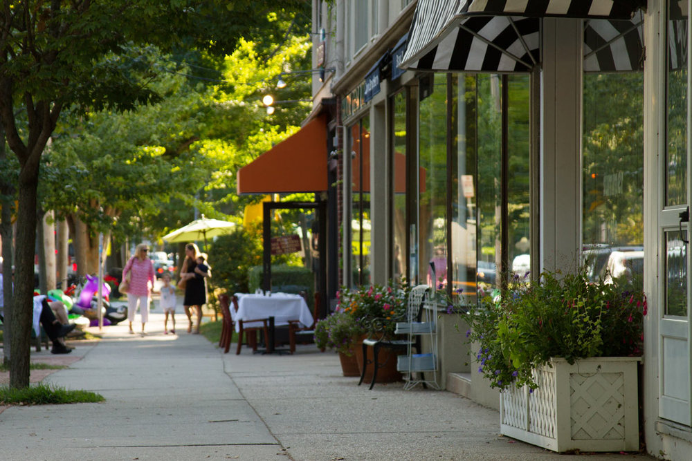 Bridgehampton Main Street