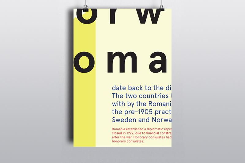 En markering av det diplomatiske samarbeidet mellom Norge og Romania. To land, to likeverdige parter, ingen skulle få mer oppmerksomhet enn den andre.