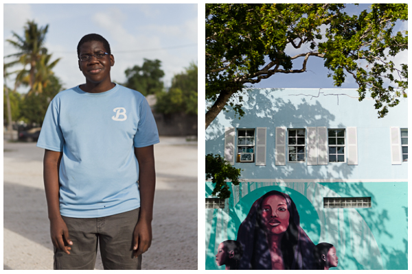 """Everything about Little Haiti is my favorite part. I like living here with my family and friends.""  ""After college, I'm planning to get married and get a job. Like any good job within a restaurant or maybe I'll be a photographer"".  Jaclyn age 17, is a junior in high school and immigrated from Haiti to Miami when she was a baby. She doesn't own a camera, but enjoys using her phone to take photographs of herself."