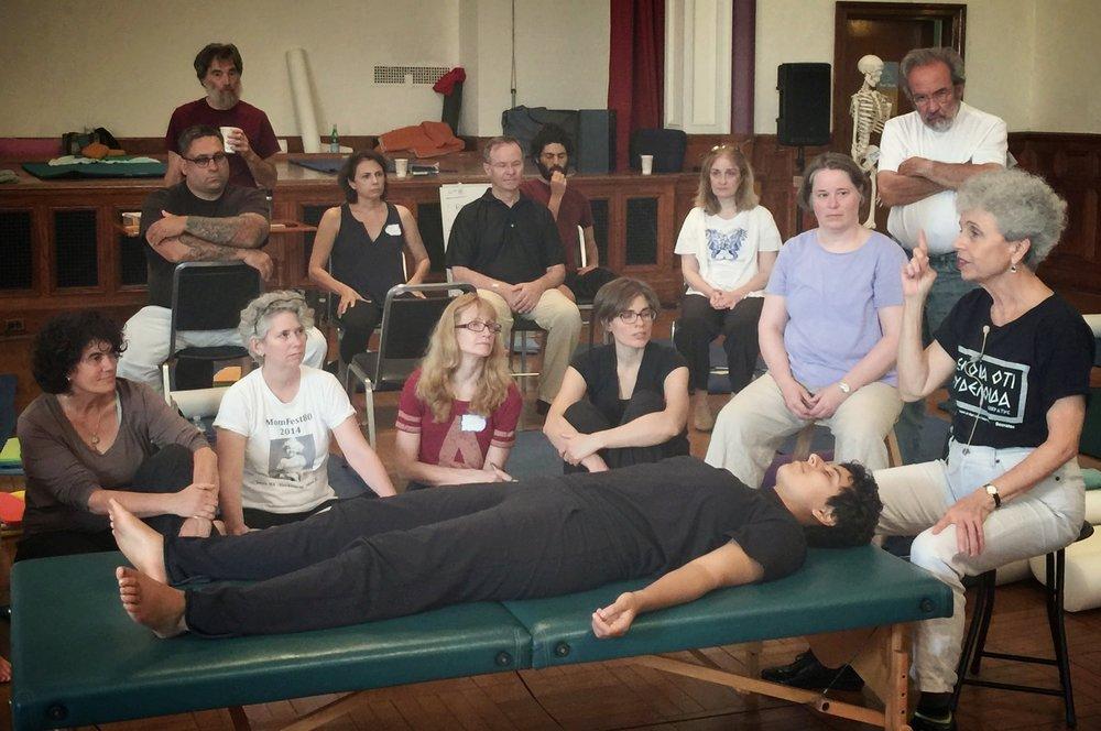 Aliza Stewart teaching in Segment 1, Year 1 of Boston 3
