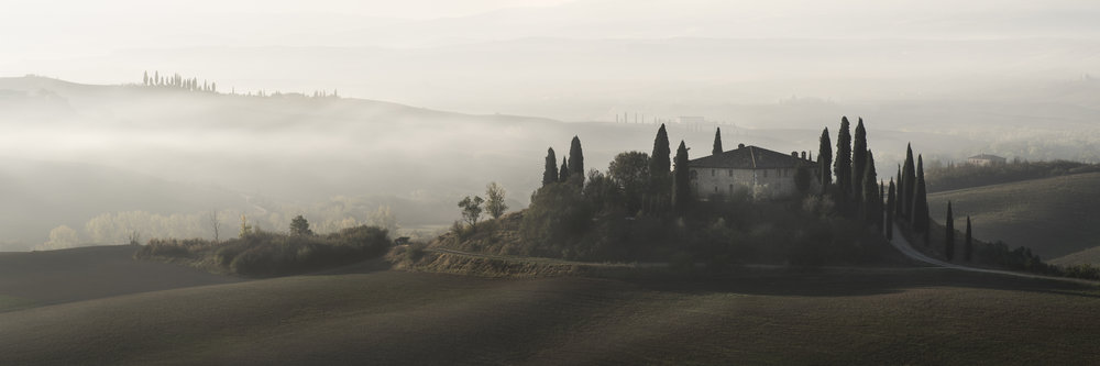 Opposing Tension  - Val D'Orcia