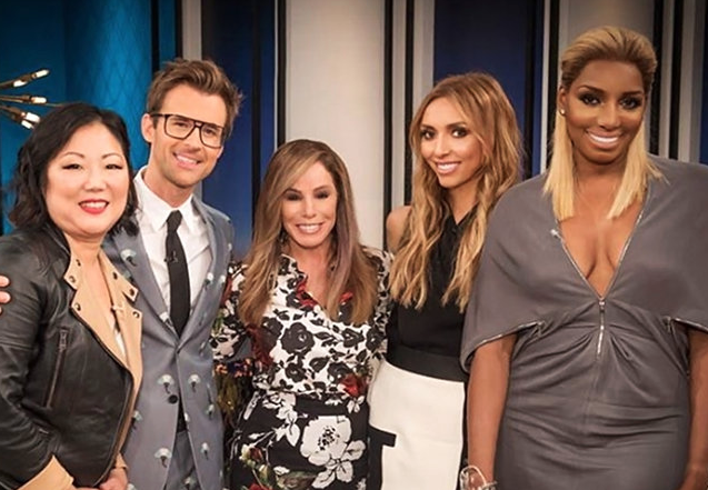 "The E! ""Fashion Police"" Team on Set"