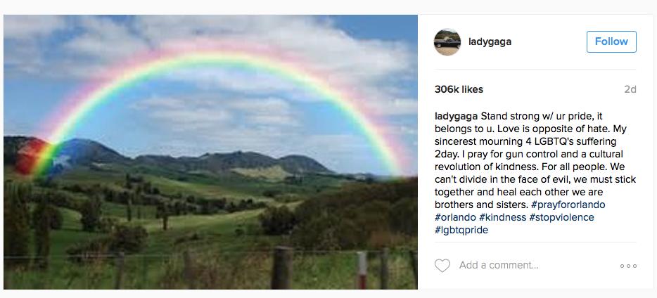 Instagram @ladygaga