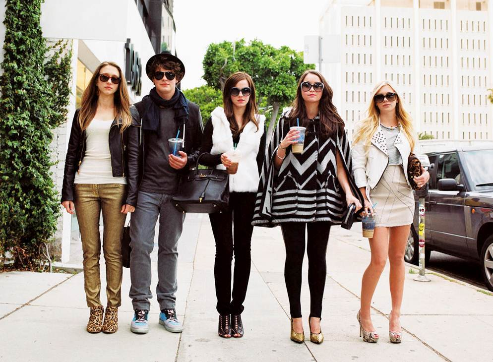 """The Cast of """"The Bling Ring"""" -A24 Films - 2013"""