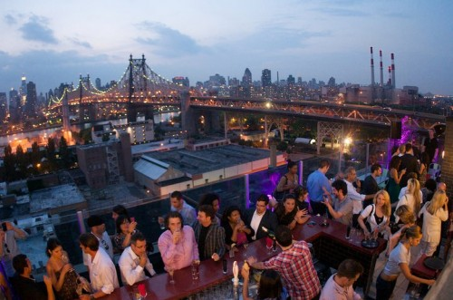 Z Hotel - Rooftop Bar , Long Island City, New York.