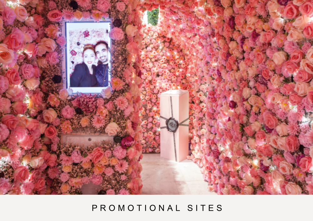 Promotional sites