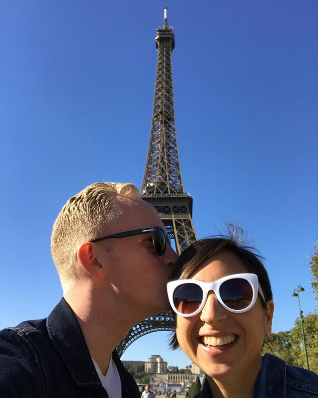 Check out this pointy tower we found in Paris!  #benandkaygotoparis #theadventuresofbenandkay #paris #theeiffeltower #benjamincarlstanley #adventure #freshairclub #travelwell #seeyououtthere #explorist #mytinyatlas #anotherescape #alwaysgo #explore #whereitravel