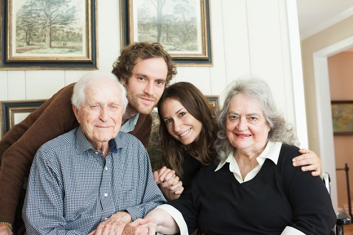 Image of a LifeLinks' client family