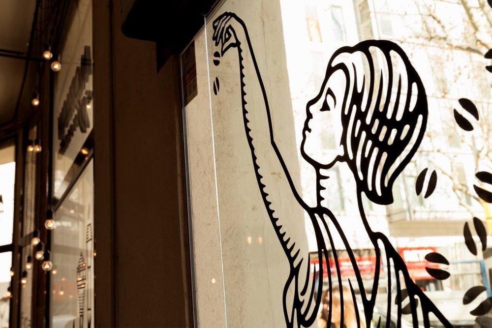 """9 a.m. : Morrow Coffee """"Perfect stop for a high quality brew."""" c/ Gran Via de les Corts Catalanes, 401; M: Plaça Espanya"""