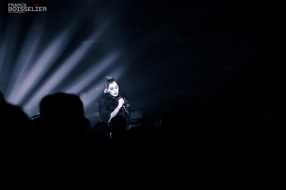 Olivia Ruiz Mythos - Franck Boisselier Photographe Concert