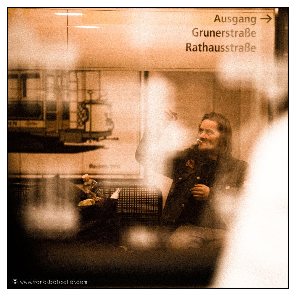 Dans le métro - Berlin 2012