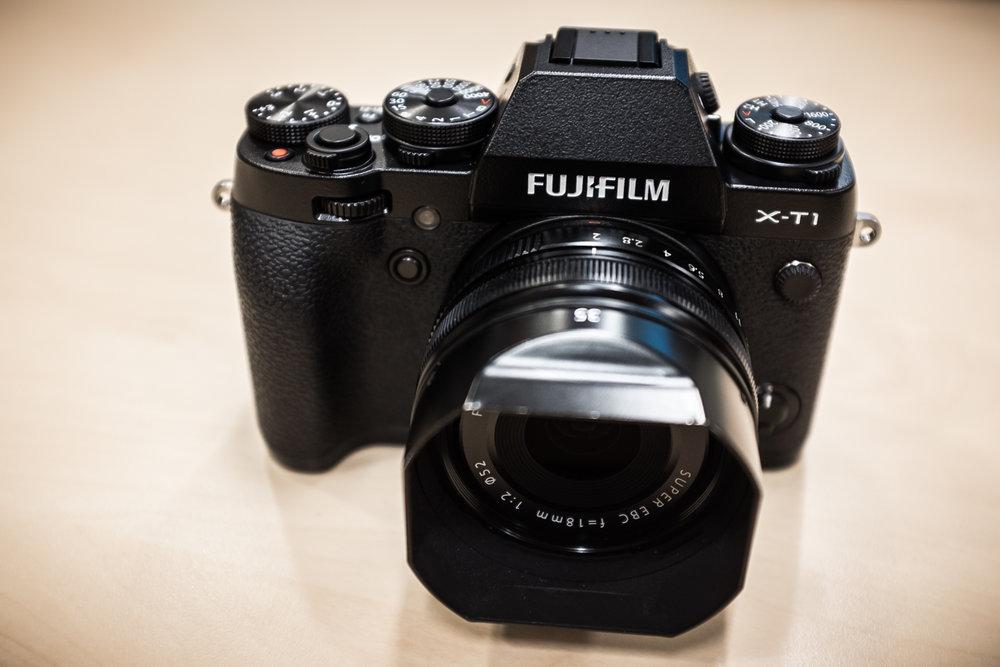 Fuji Xt1 + 18 mm f/2