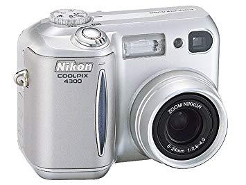 Nikon Coolpix 4300 - Mon premier Appareil photo numérique.