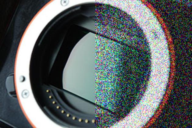 Présence de bruit numérique à droite de l'image.