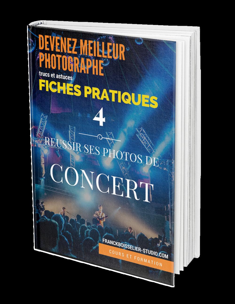 Guide technique de la photo de concert