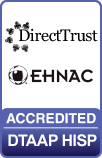DirectTrust EHNAC Accredited DTAAP HISP logo
