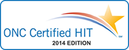 ONC Certified HIT 2014 Edition logo