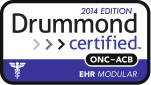 Drummond Certified ONC-ACB EHR Modular 2014 Edition logo