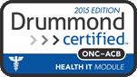 Drummond Certified ONC-ACB EHR Modular. 2014 Edition.