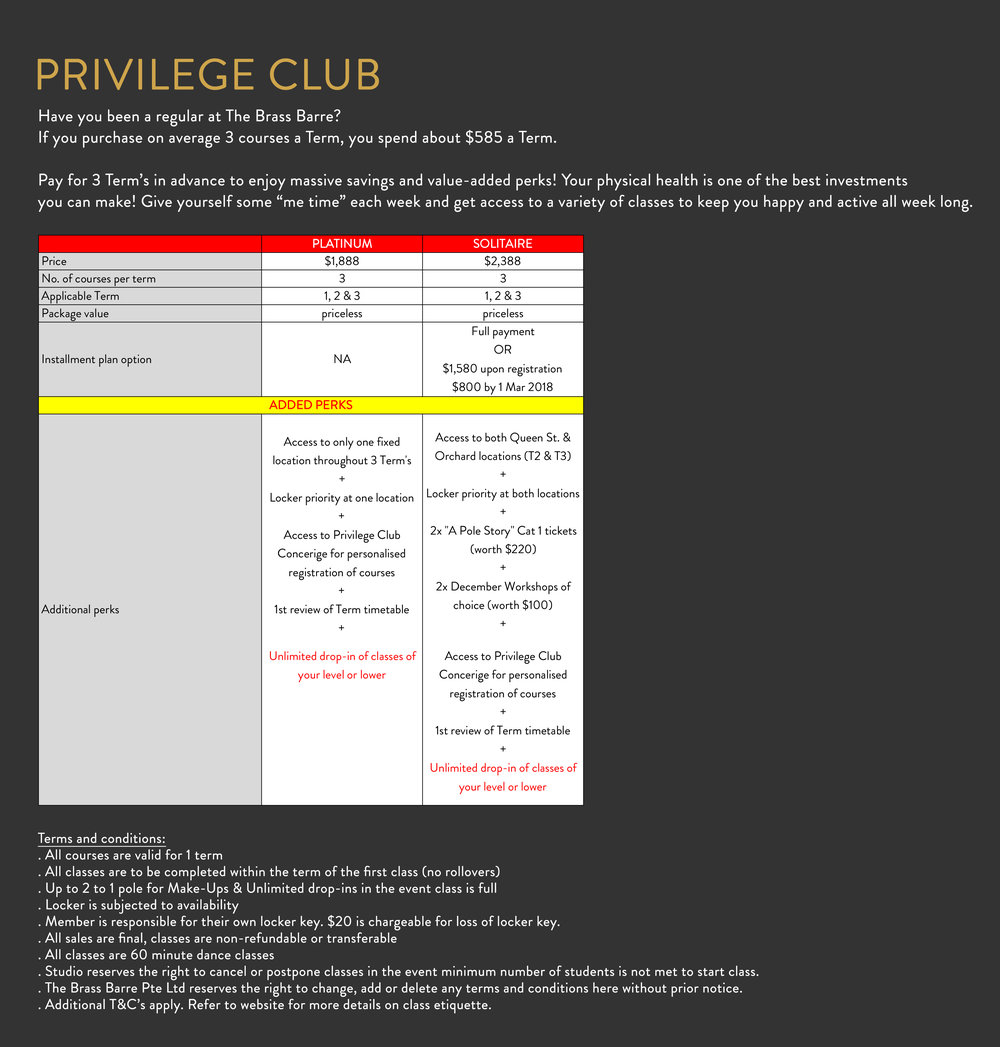 Last day to sign up for Privilege Club is on 15 Jan 2018