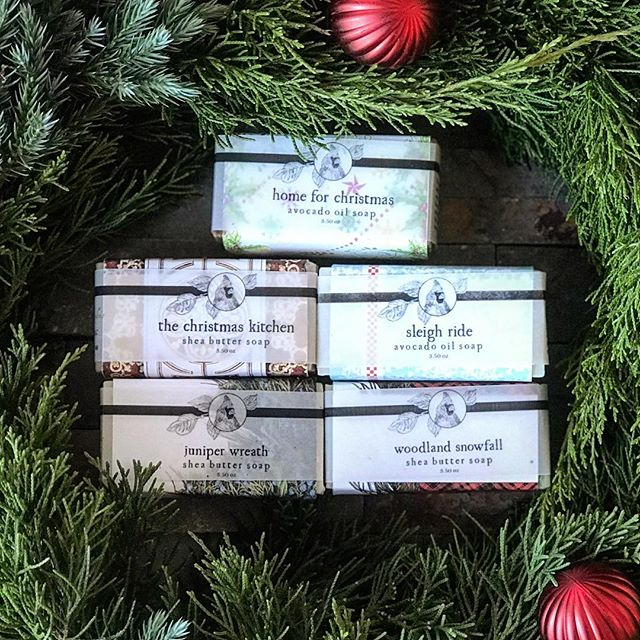 🎄 It's the most wonderful time of the year!  We are having a wonderful Thanksgiving here at Graham Gardens but we wanted to pop on here and let you know that 🎄🌟Christmas soaps are ready to ship! 💥 through Sunday, all our soaps 🧼 are Buy Four Get One Free!!💥 Perfect gifts for everyone and great stocking stuffers.  Have a great weekend with your families. 💕  #soap #christmassoap #grahamgardens
