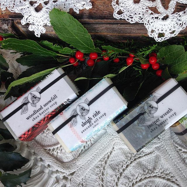 🎄A few hours left! Our Christmas soap sale ends at midnight! 🧼 Soap makes a lovely gift for teachers, coaches, neighbors, uncles, cousins and well, basically, humans. So if you've got humans on your Christmas list, we've got you covered!  Ok. It's obviously getting late. Go get the soap! 🎄 Merry Christmas!!