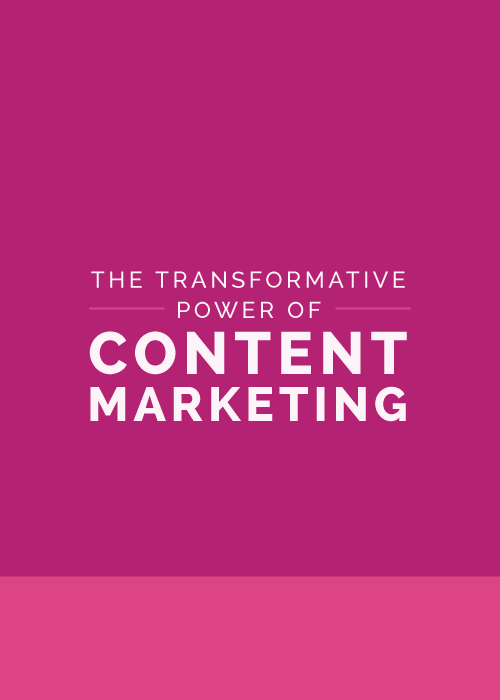 The Transformative Power of Content Marketing - The Elle & Company Collaborative