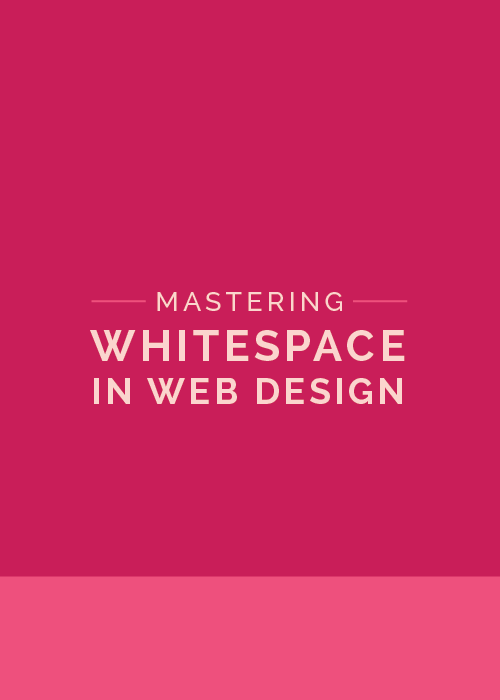 Mastering Whitespace in Web Design - The Elle & Company Collaborative