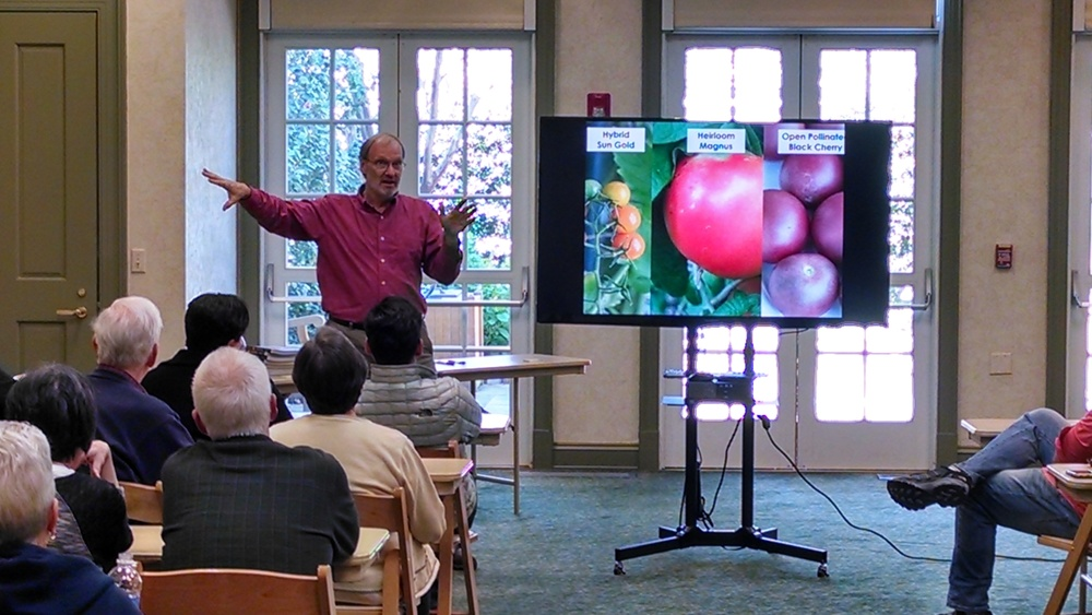 Speaking at Daniel Stowe Botanical Gardens