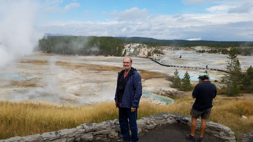 The Norris Geyser basin was simply inconceivable, surely like nowhere else on earth.