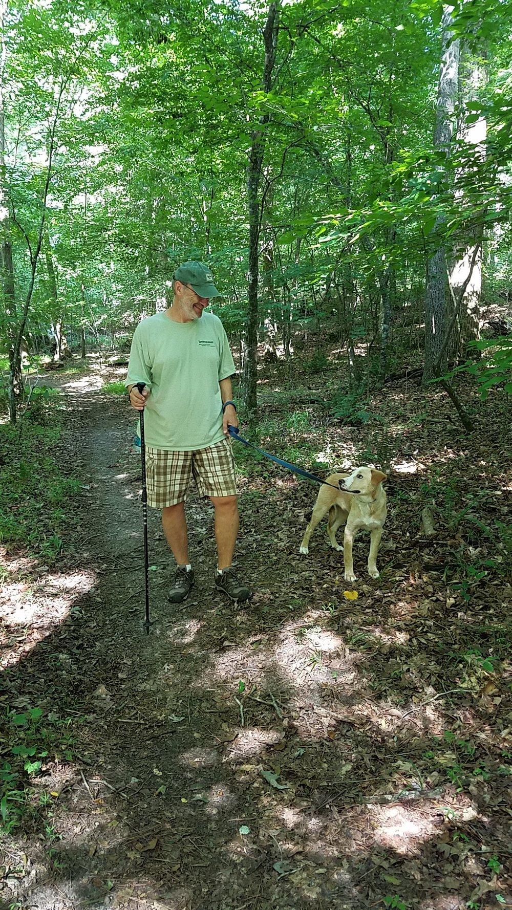 Taking a Sunday morning walk with Coda