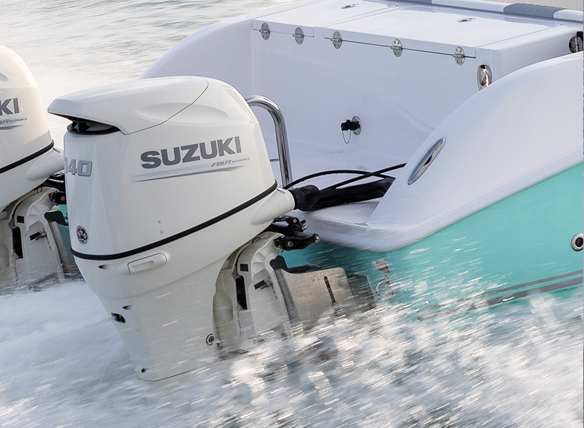 Livewell - The stern transom offers an oversized livewell and an additional cooler, both insulated and located for the true angler that knows how to maximize the boat's fishability. Coolers can also double as coolers for drinks and food.