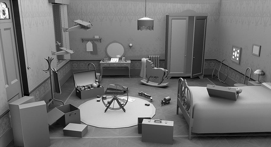 Carlos Zaragoza 3D Visual development