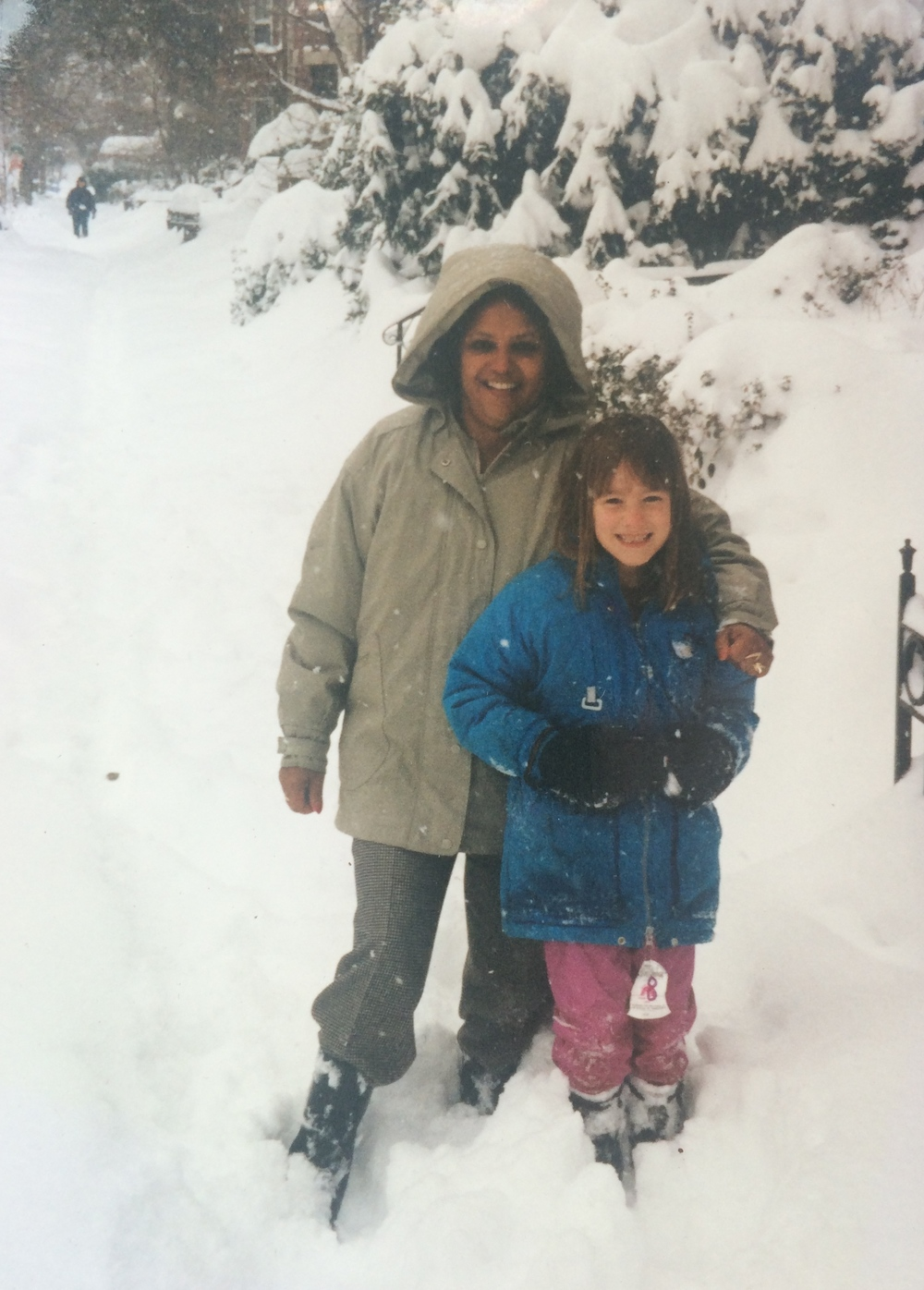 Lemmy and Eliza in the Blizzard of 1996